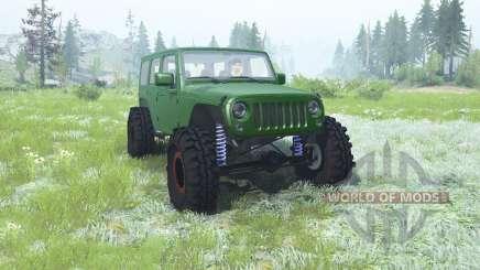 Jeep Wrangler Unlimited (JK) 2007 for MudRunner
