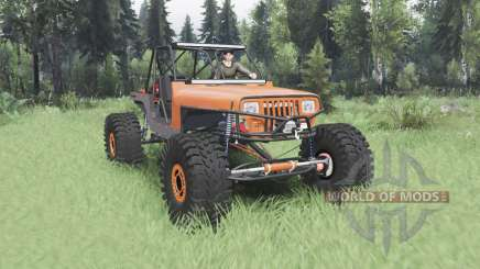Jeep Wrangler (YJ) 40OZ Juggy for Spin Tires