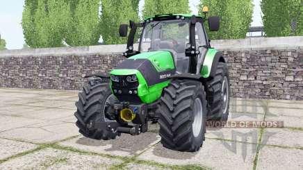 Deutz-Fahr Agrotron 6190 TTV wheels selection for Farming Simulator 2017