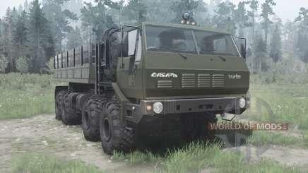 CRA 7Э6316 Siberia for MudRunner