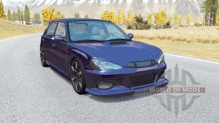 Hirochi Sunburst hatchback v1.14 for BeamNG Drive