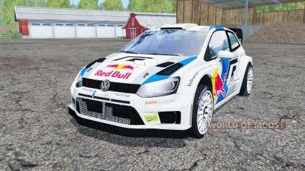 Volkswagen Polo R WRC (Typ 6R) 2013 for Farming Simulator 2015