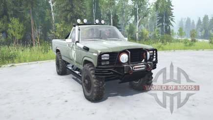 Ford F-150 Rangeᶉ 1982 lifted for MudRunner