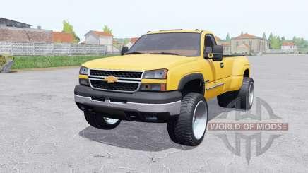 Chevrolet Silverado 3500 Regular Cab Duramaᶍ for Farming Simulator 2017