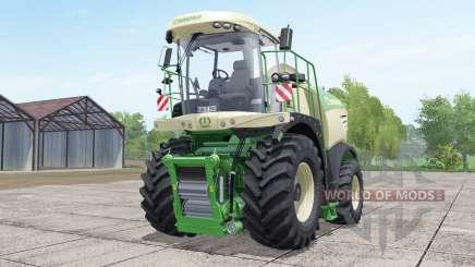 Krone BiG X 580 dynamic hoseʂ for Farming Simulator 2017