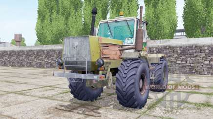 T-150K with the engine selection for Farming Simulator 2017