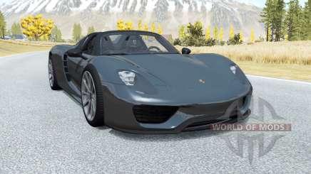 Porsche 918 Spyder 2014 for BeamNG Drive
