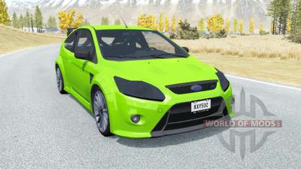 Ford Focus RS (DA3) 2009 for BeamNG Drive