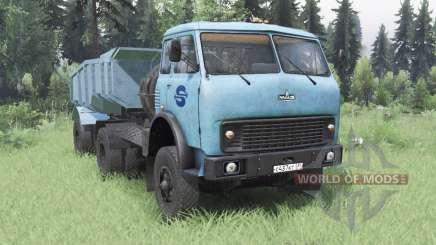 MAZ-504В soft blue for Spin Tires