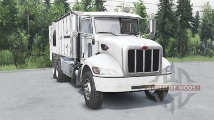 Peterbilt 330 6x4 for Spin Tires