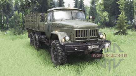 ZIL 131Н for Spin Tires