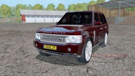 Land Rover Range Rover Superchargeɗ (L322) 2005 for Farming Simulator 2015