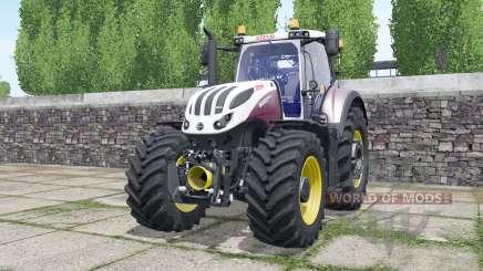 Steyr Terrus 6600 CVT wheels selection for Farming Simulator 2017