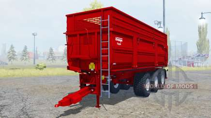 Krampe Big Body 900 S new tires for Farming Simulator 2013