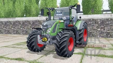 Fendt 712 Vario wheels selection for Farming Simulator 2017