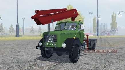 Magirus-Deutz 200 D 26 timber for Farming Simulator 2013