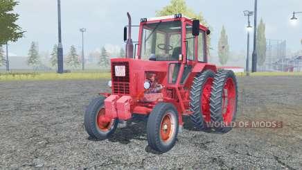 MTZ 80 Belarus animated elements for Farming Simulator 2013