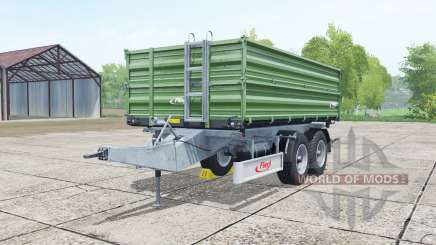 Fliegl TDK 160 dark green for Farming Simulator 2017