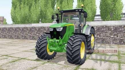John Deere 6175R design configurations for Farming Simulator 2017