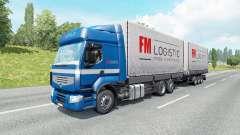 Large-capacity trucks for traffic for Euro Truck Simulator 2
