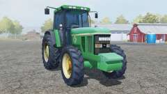 John Deere 7800 add wheels for Farming Simulator 2013