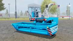 Fortschritt E-281 pure cyan for Farming Simulator 2013