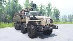 Ural 6614 beige color for MudRunner