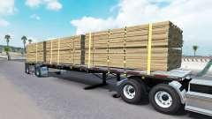 The semitrailer-platform Wilson for American Truck Simulator