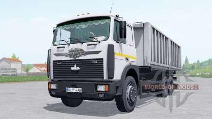 MAZ 6303 trailer MAZ 856102-5010 for Farming Simulator 2017