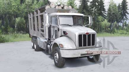 Peterbilt 330 6x4 v2.0 for Spin Tires