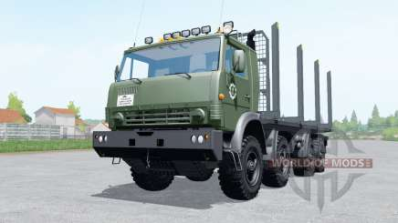 KamAZ 6350 timber for Farming Simulator 2017