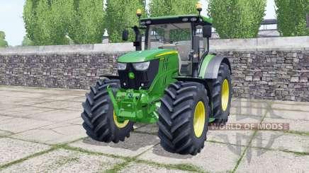John Deere 6155R front loader for Farming Simulator 2017