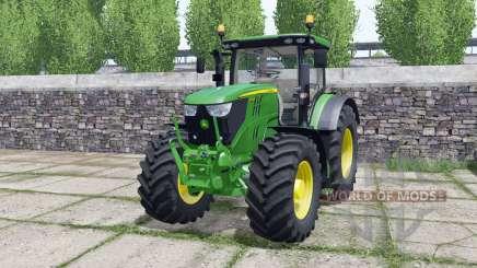 John Deere 6195R FL console for Farming Simulator 2017