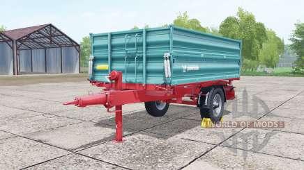 Farmtech EDK 800 desaturated cyan for Farming Simulator 2017