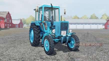 MTZ 80 Belarus bright blue color for Farming Simulator 2013
