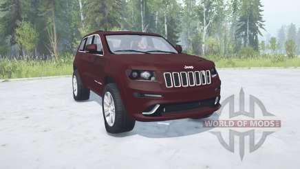 Jeep Grand Cherokee SRT8 (WK2) 2012 for MudRunner