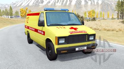 Gavril H-Series Ambulance for BeamNG Drive