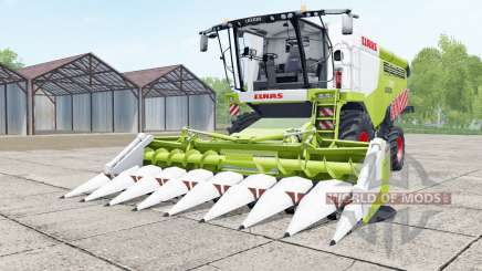 Claas Lexion 740 green and white for Farming Simulator 2017