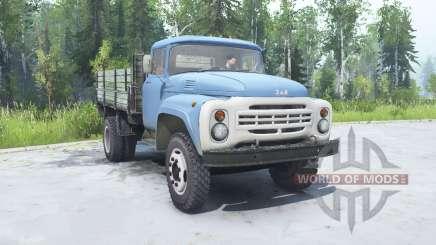 ZIL 130 soft-blue color for MudRunner