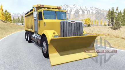 Gavril T-Series snow plow for BeamNG Drive