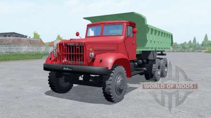 KrAZ 222 for Farming Simulator 2017