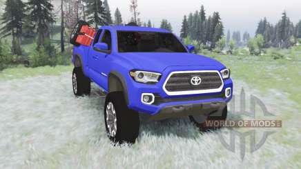 Toyota Tacoma TRD Off-Road Access Cab 2016 v1.2 for Spin Tires