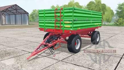 Pronar T653-2 lime green for Farming Simulator 2017