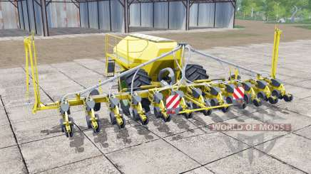 Horsch Maestro 12.75 SW vivid yellow for Farming Simulator 2017