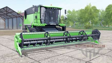 Deutz-Fahr 6095 HTS header trailer for Farming Simulator 2017