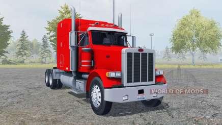 Peterbilt 378 Sleeper Cab v2.0 for Farming Simulator 2013