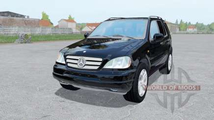 Mercedes-Benz ML 430 (W163) 1999 for Farming Simulator 2017