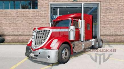 International LoneStar tractor red for American Truck Simulator