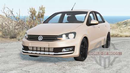 Volkswagen Polo Sedan 2015 for BeamNG Drive